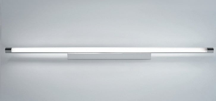 Wall lamp Ribag Spina Clear 28W / 54W T5 chrome