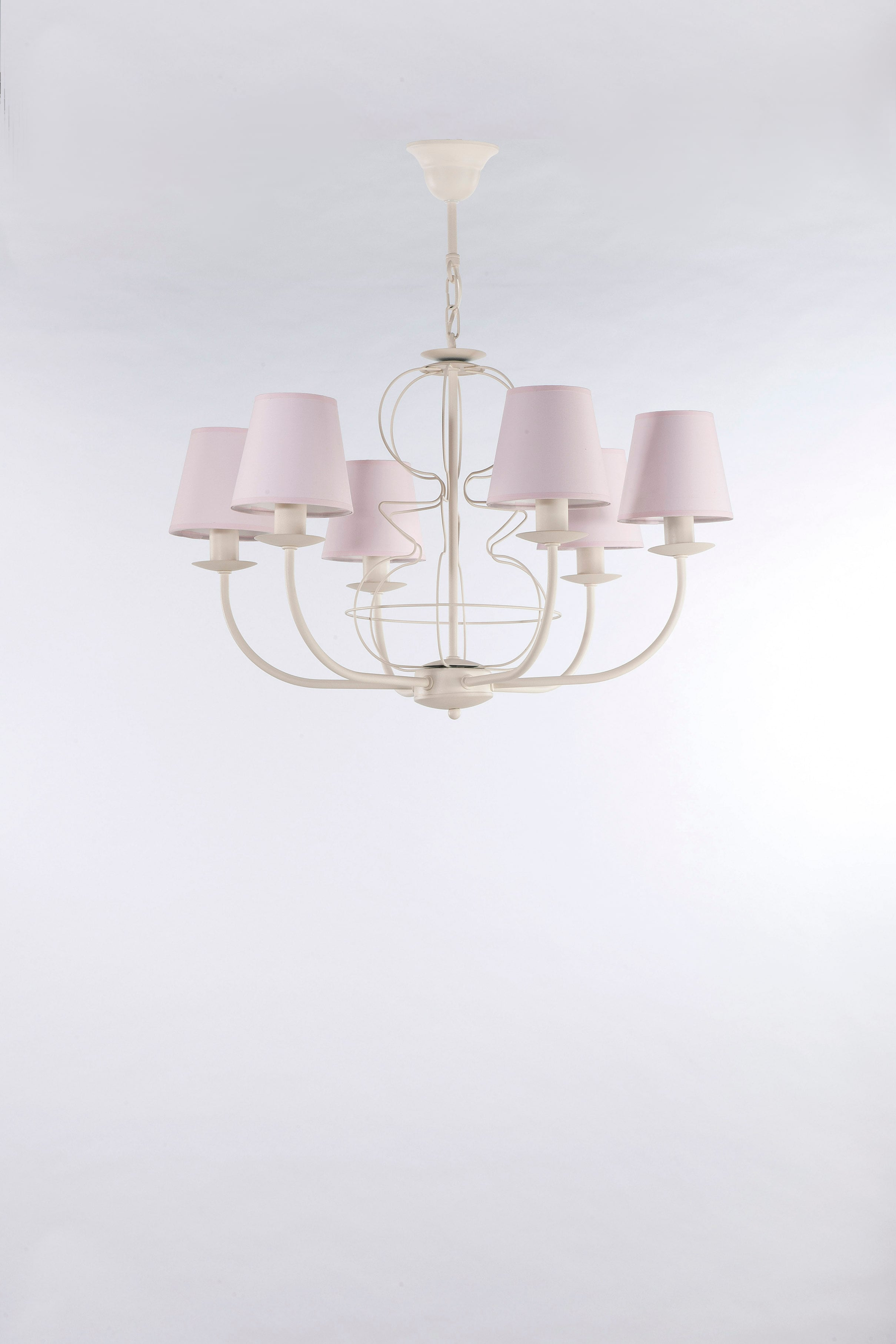 Hanging lamp FIORA CREAM 6 No. 3267