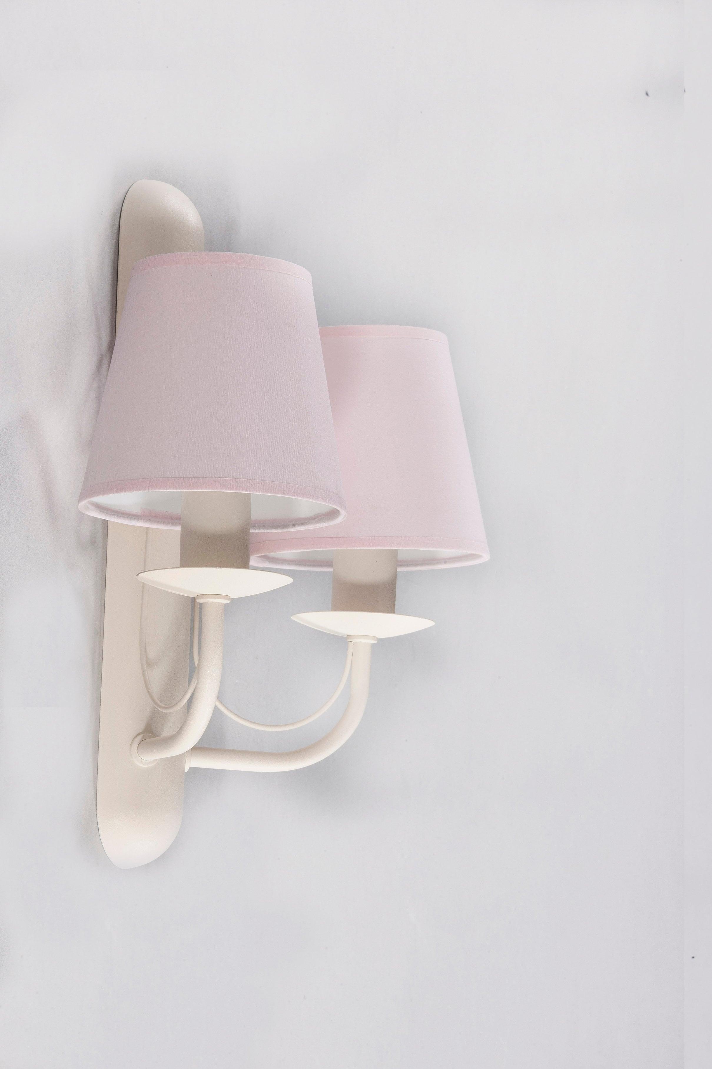 Double wall lamp FIORA CREAM No. 3270