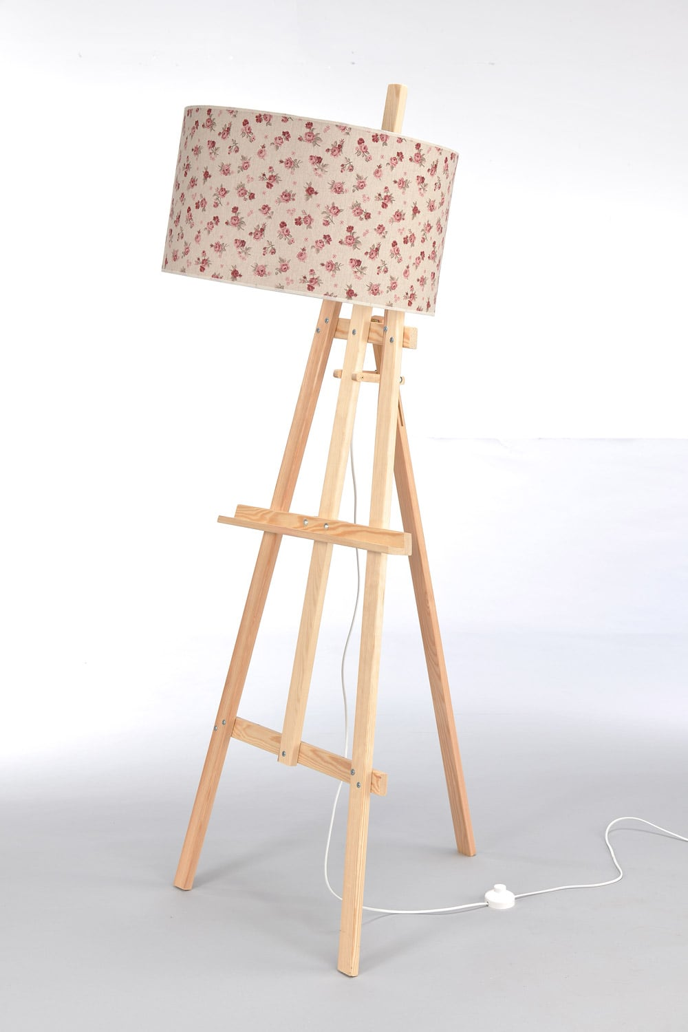 Standing Wood Lamp easel No. 2475