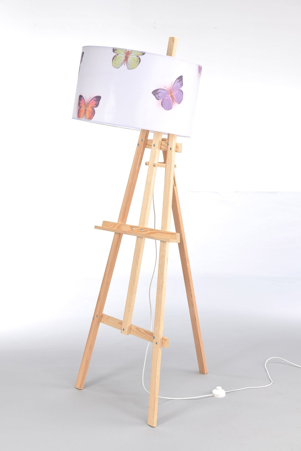 Standing Wood Lamp easel No. 2479