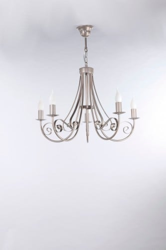 Hanging Lamp Mizar Classic Satin 5 No. 3385