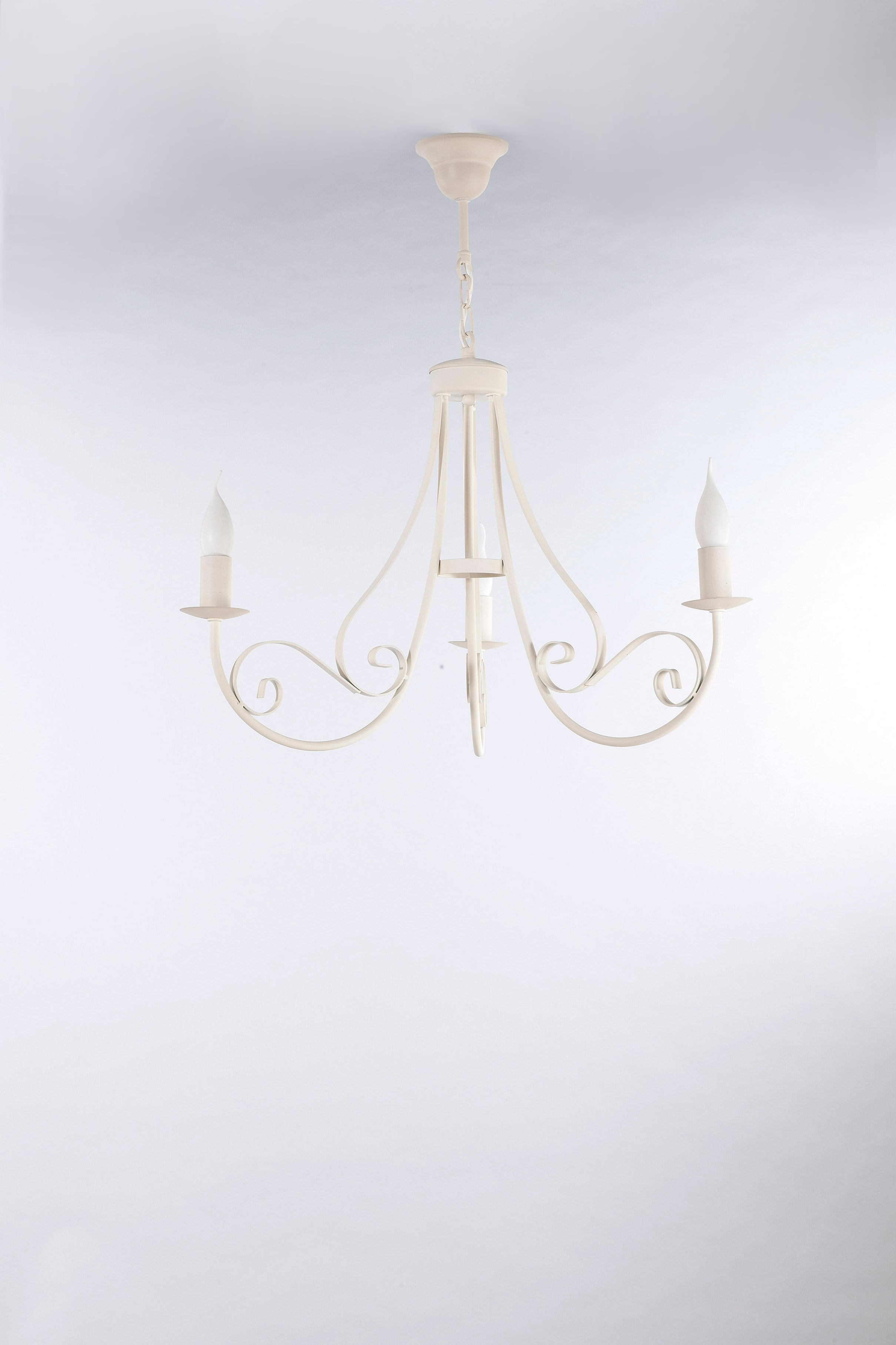 Hanging Lamp Mizar Classic Cream 3 No. 3382