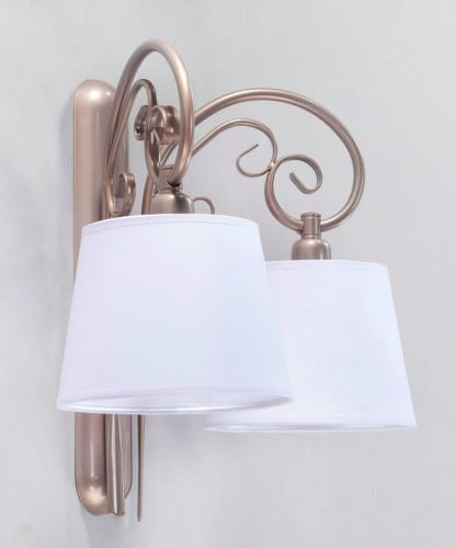 Double wall lamp ADARA SATIN No. 3547