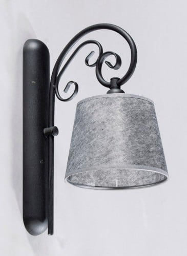 Wall lamp Single ADARA BLACK No. 3540