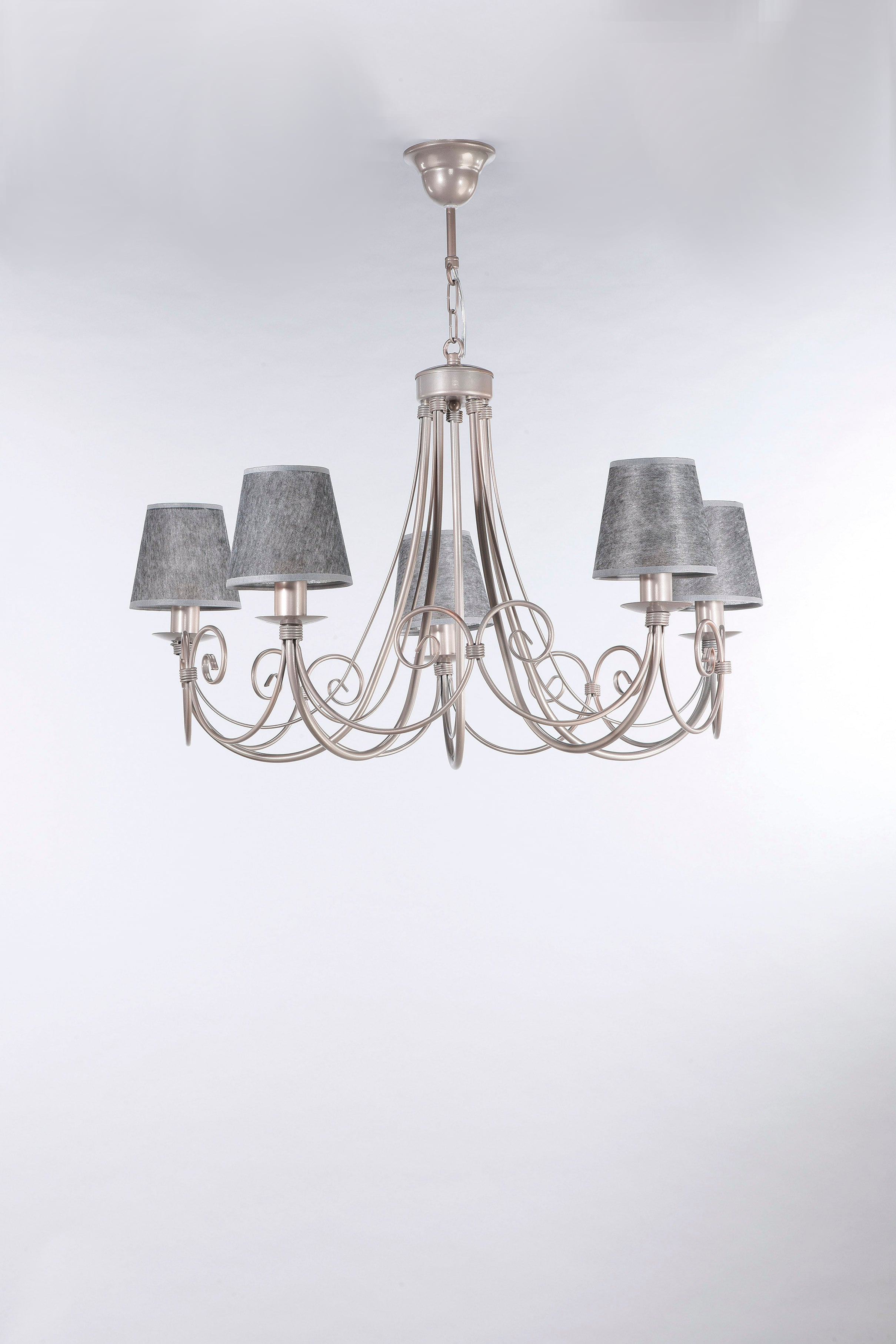 Hanging Lamp SYRIUSZ SATYNA zk-5 No. 3445