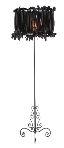 Floor lamp ART DECO BLACK No. 2529