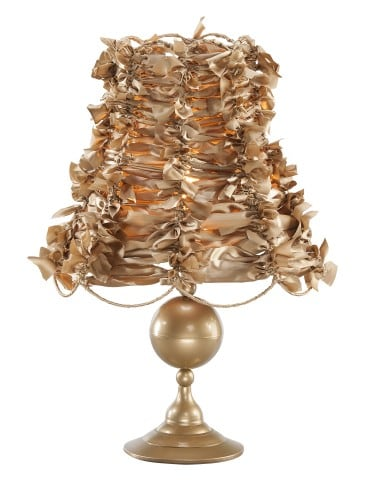 Night lamp ART DECO GOLD No. 2528