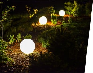 Electric luminous ball - Flexi Ball Electric 30 cm with cable and bulb small 2
