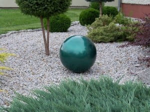 Decorative Garden Ball Color Choice 38 cm small 13