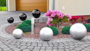 Decorative Garden Ball Color Choice 38 cm small 4