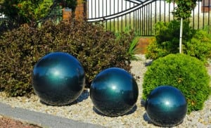 Decorative Garden Ball Color Choice 38 cm small 6