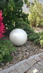 Decorative Garden Ball Color Choice 38 cm small 9