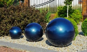 Decorative Garden Ball Color Choice 50 cm small 5