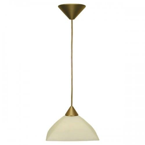 Lampa wisząca Zwis 1-pł. amber 23cm FARAON Beżowy