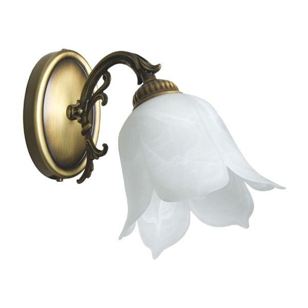 Wall lamp 1-pł. FlowerPower Patina