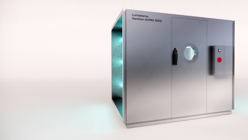 Effective room disinfection - STERILIZER AirPRO 500 - 7500, module for air conditioning and ventilation, UV-C radiation