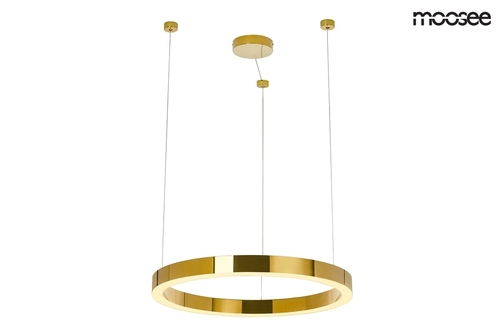 MOOSEE pendant lamp RING LUXURY 50 gold - LED, chrome gold