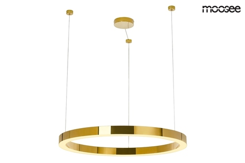MOOSEE pendant lamp RING LUXURY 90 gold - LED, chrome gold