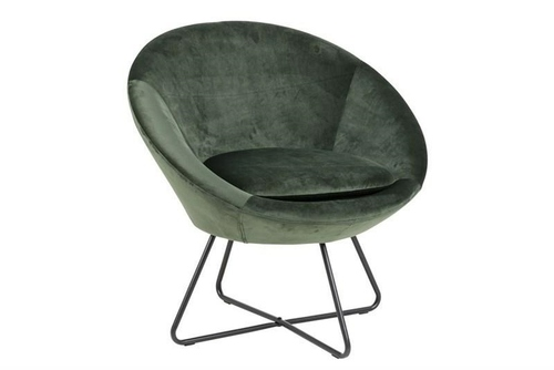 ACTONA armchair CEZAR - forest green