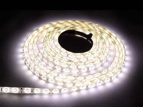 60 LED strip 24 W. Color Cold White. Ip65. (5 Meters)