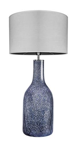 Decorative table lamp Famlight Alor Black Sky Matt gray E27 60W handmade
