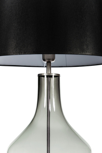 Ceylon S Gray Famlight E27 60W dresser lamp, hand-made small 5