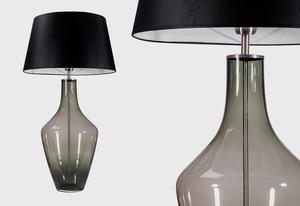 Ceylon S Gray Famlight E27 60W dresser lamp, hand-made small 1