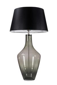 Ceylon S Gray Famlight E27 60W dresser lamp, hand-made small 0