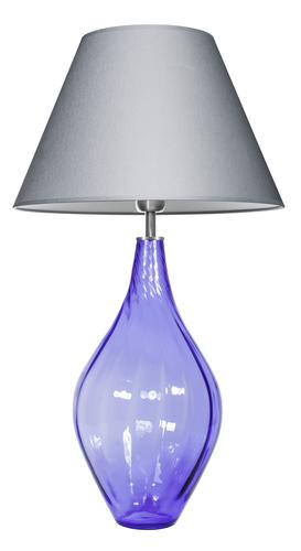 Lamp with a glass base Borneo Purple Famlight E27 60W Polish production