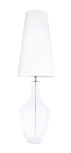 Large Ceylon L Transparent Famlight E27 60W table lamp