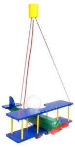 Hanging lamp for a child, large Airplane 104.11.08 small 0