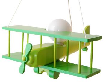 Children's hanging lamp Large plane 104.11.24