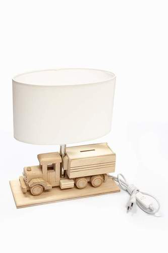 Children's table lamp Truck - Piggy bank 411.24.09