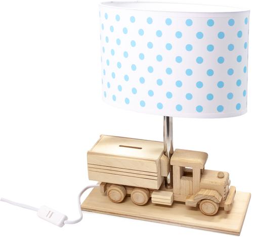 Children's table lamp Truck - Piggy bank 411.24.14