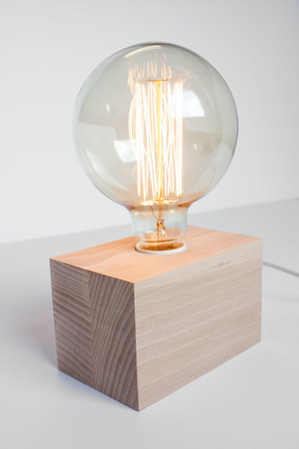Modern Cubo 2 cube table lamp