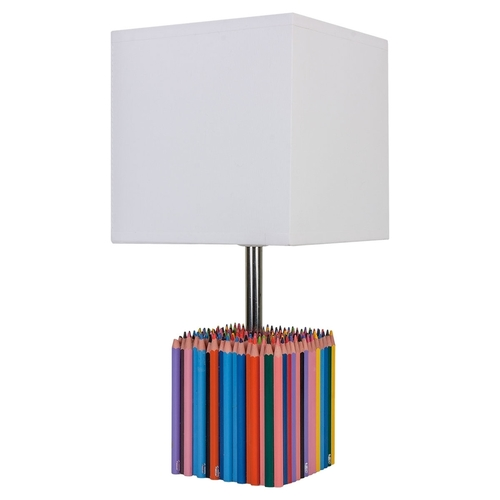 "Children's table lamp ""Colorful Crayons"""
