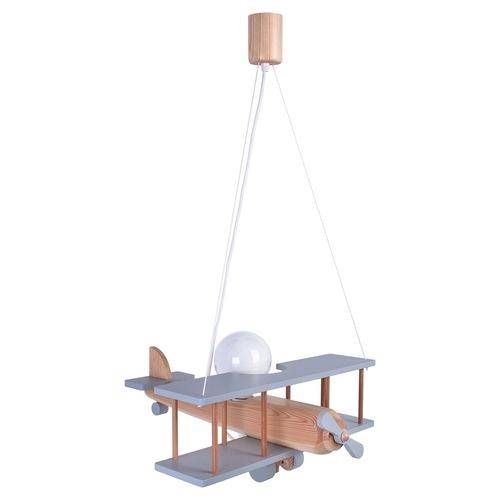 Hanging lamp for a child. Large plane 104.11.40