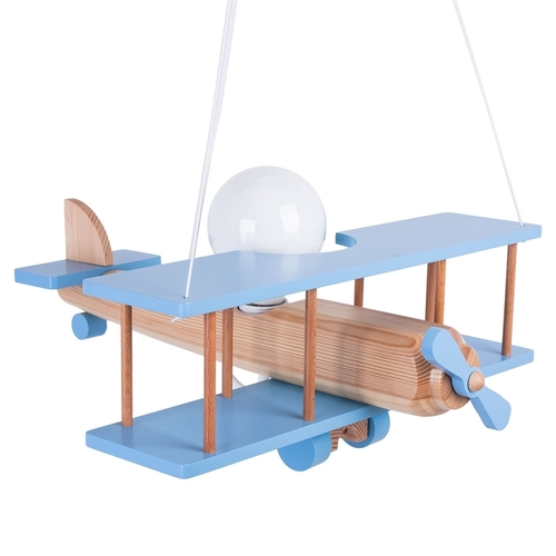 Hanging lamp for children. Large plane 104.11.41