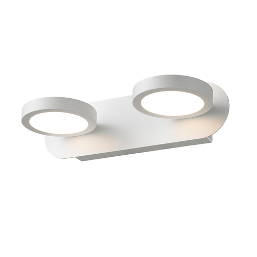White Modern Kendra LED Wall Lamp