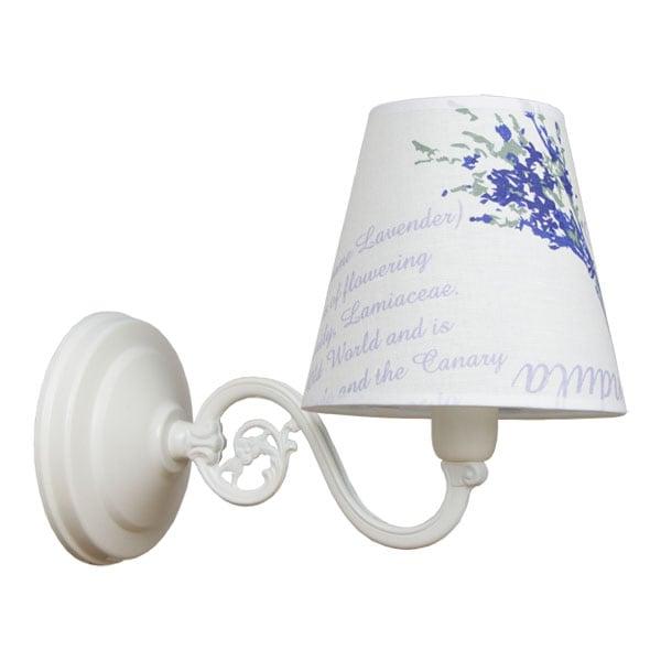 Wall lamp 1-pł. LAVENDA White