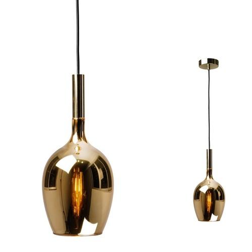 Hanging lamp Tango Gold 1x E14