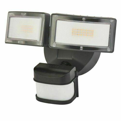 Outdoor wall lamp, reflector. It has an adjustable head. Duo 6556-PIR