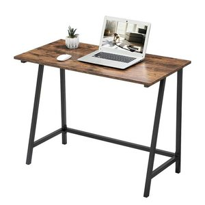 Rustic Brown Computer Desk LWD40X small 2