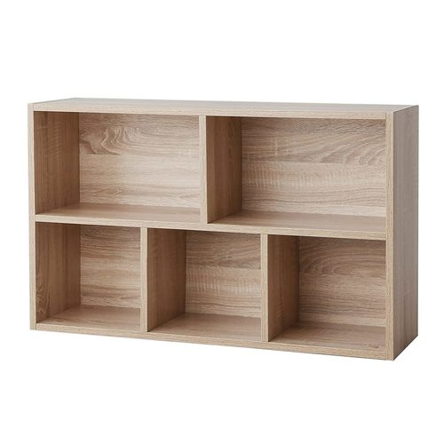LBC25NL Oak Shelf / Bookcase