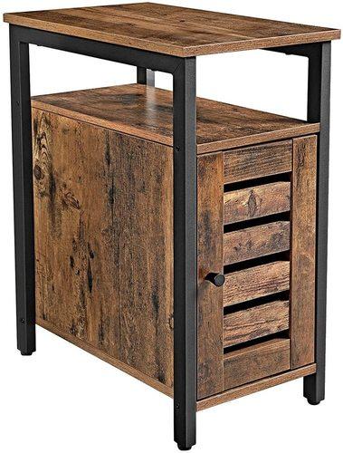 Bedside table / rustic brown LET61BX