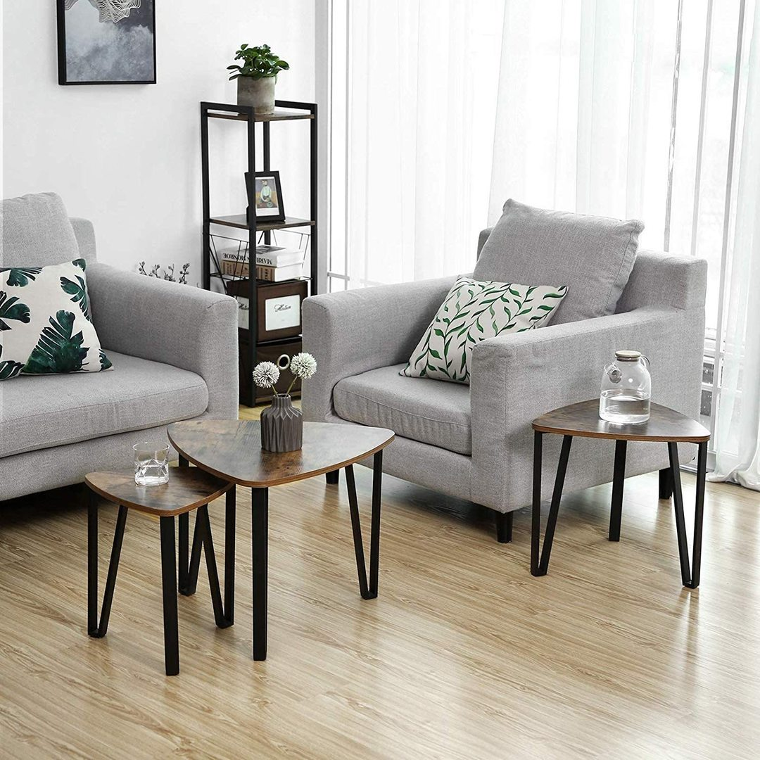 A set of three LNT13X Coffee Tables