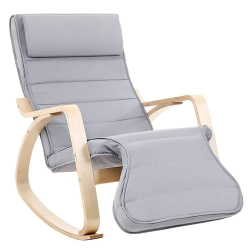 Gray rocking chair LYY42G