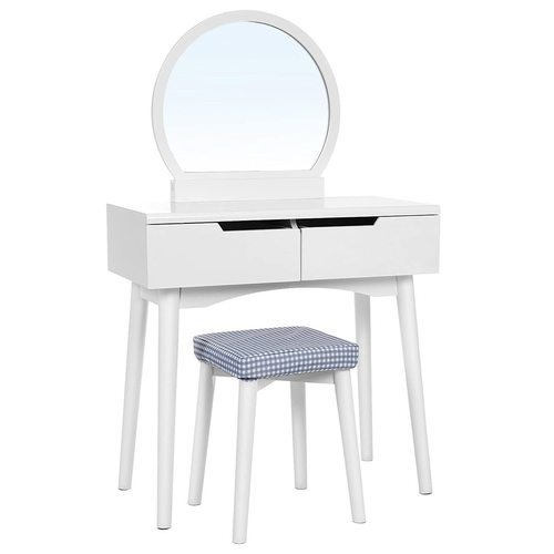 Classic white dressing table RDT11W