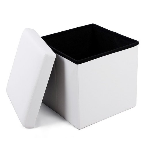 Folding pouffe with storage LSF103
